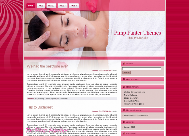 WP Massage Theme
